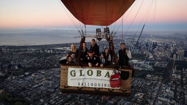 An early morning hot air balloon ride over the CBD is the best way to take in the sights of Melbourne.
