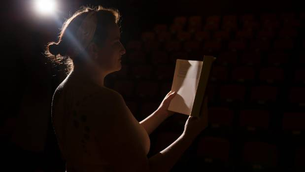 Palmerston North woman Hannah Pratt is reading naked for a show in Wellington.