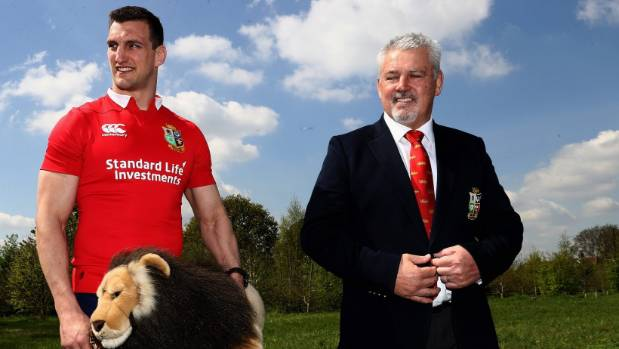 Fitzpatrick says Kiwis will warm to Sam Warburton and many of Warren Gatland's men.
