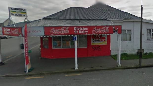 The group were attempting to steal cigarettes and cash from the Division Street Dairy in Riccarton, Christchurch, the ...