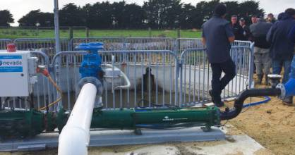The effluent management system is hands off so frees up staff for other activities.