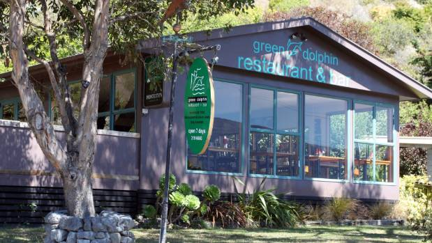 Romance: the Green Dolphin restaurant.