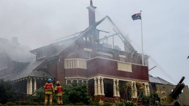 Fire has gutted the Ivanhoe RSL in Melbourne, Australia,  just days before Anzac Day.