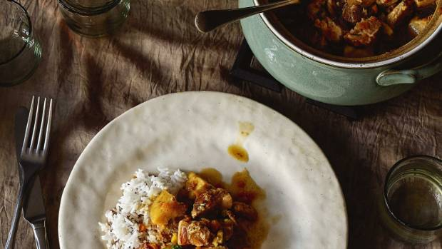 Pork and kumara come together for your comfort on those upcoming cold evenings.