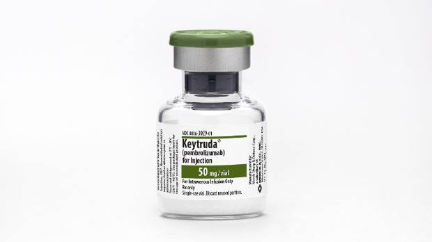 Keytruda is an immunotherapy drug used to treat advanced melanoma and, more recently, lung cancer.