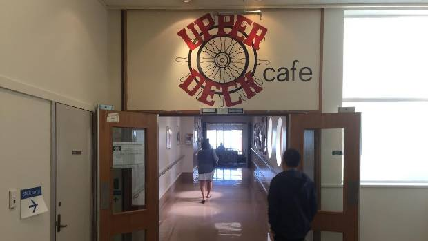 Waikato DHB's Upper Deck Cafe no longer sells sugary drinks or deep fried food.