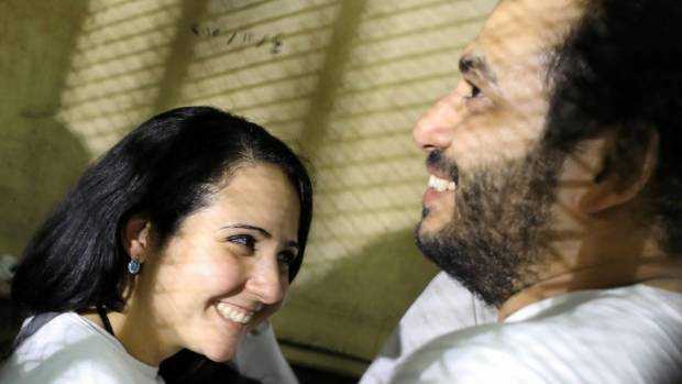 Aya Hijazi returns to USA  from Egyptian prison