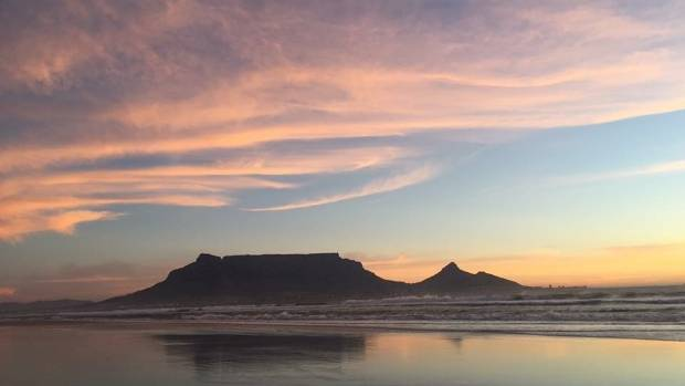 Cape Town's famed Table Mountain.