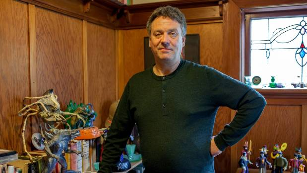 The Chills frontman Martin Phillipps at home in Tainui, Dunedin.