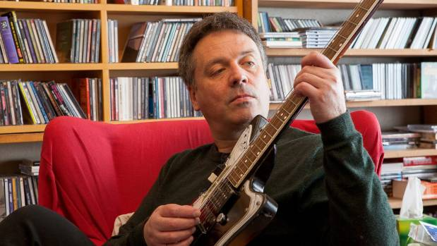 The Chills frontman Martin Phillipps at home in Tainui, Dunedin.
