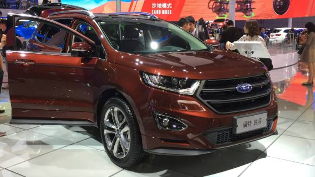 The Ford Edge - due in New Zealand next year as replacement for the Territory.