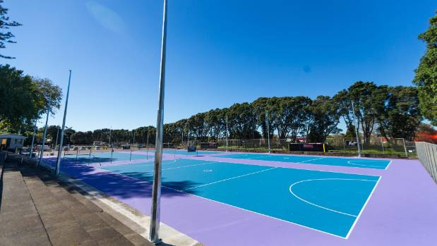 Work is underway at Waiwhakaiho netball courts in New Plymouth