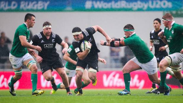Jacobson against Ireland at last year's world rugby championships in England.