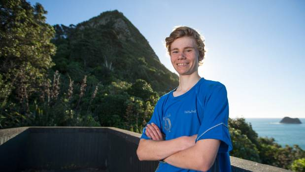 Thomas Hadley, 17, completed the four peaks challenge in 9 hours and 45 minutes.