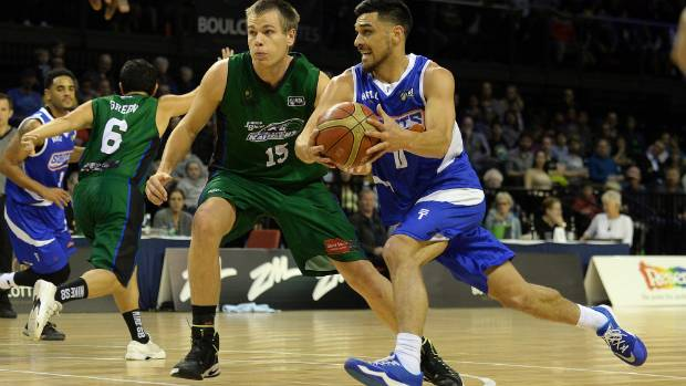 Wellington Saints guard Shea Ili was in good form against the Supercity Rangers on Friday night.