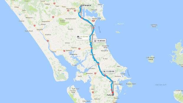 A Northland boy took his caregivers' car for a ride from Whangarei to Puhoi in the early hours of Thursday morning.
