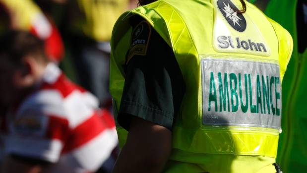 St John spokesman Gerard Campbell said three ambulances were called to Glasnevin, in North Canterbury about 3.45pm on ...