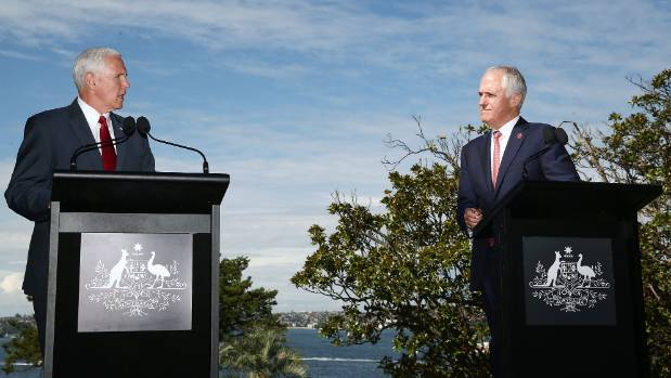 Mike Pence says the U.S. will honor refugee deal with Australia