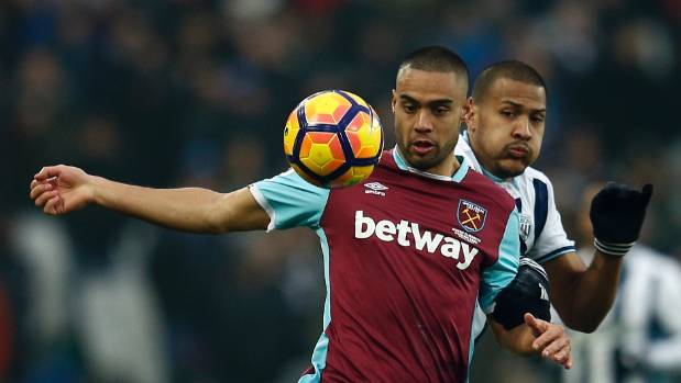 Winston Reid has been troubled by a knee injury for more than six weeks.