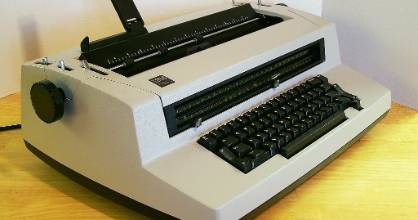 The success of IBM's Selectric typewriter helped finance other innovations at the company, notably the personal computer..