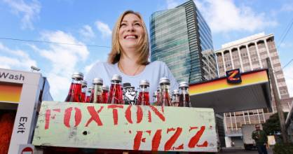 Foxton Fizz, a New Zealand favourite, harks back to simpler times.