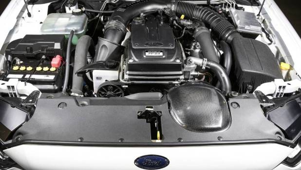 Ford Australia did teach an old dog new tricks by putting a turbo on its 4.0-litre powerplant.