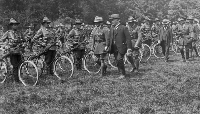 693bf857b66fa Remembering the Anzac Cyclist Battalion