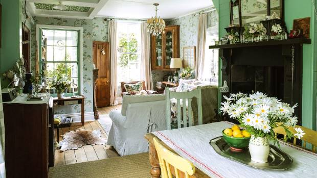 Wooden planking and joinery and florals are perfect partners  if you're after a country cottage feel.