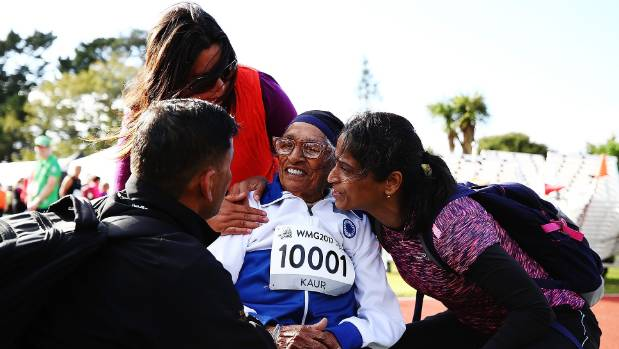101-year-old Man Kaur bags gold in 100m
