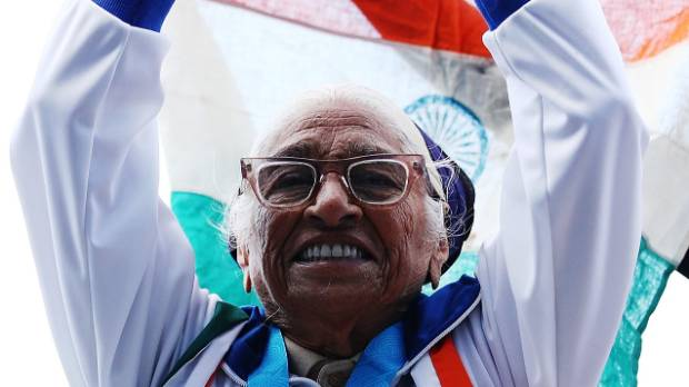 101-year-old Indian woman wins gold at 100 metres sprint