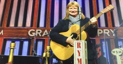 Fifteen seconds of fame. At the Grand Ole Opry, Nashville, anyone can be a star.