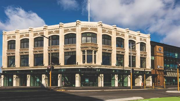 The McKenzie and Willis development at the corner of High and Tuam streets in central Christchurch.