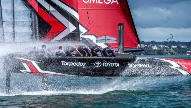 Racing underway for Team New Zealand