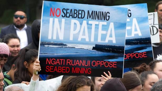 South Taranaki iwi oppose Trans Tasman Resources to mine the seabed for iron ore