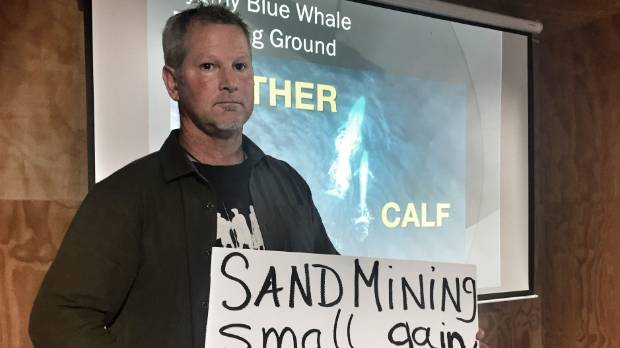 Kiiw's Against Seabed Mining spokesman Phil McCabe says the hearings process is flawed