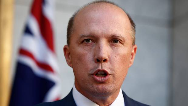 Minister for Immigration and Border Protection Peter Dutton cancelled Te Puia's visa an hour after he won a High Court ...