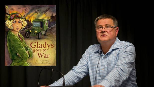 Glyn Harper talks about Gladys Goes to War, an extraordinary tale of a woman ahead of her time.