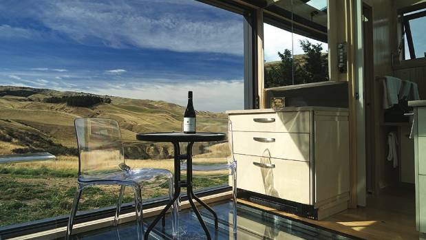 Big skies, wine and luxury at Greystone Vineyard in Waipara.