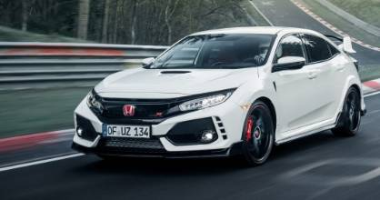 Honda has claimed a new front-wheel-drive lap record for the Nurburgring with its new Civic Type R.
