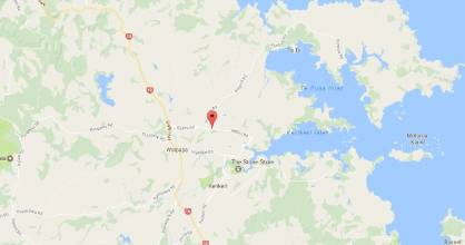 The crash occurred on Kapiro Road, north of Kerikeri.