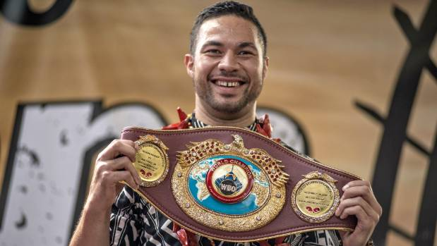 The champ: WBO heavyweight boxing title holder Joseph Parker.