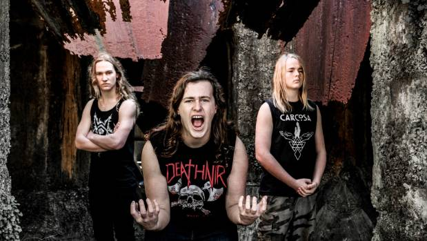 Heavy metal bands Alien Weaponry and Bulletbelt are playing two Northland concerts.