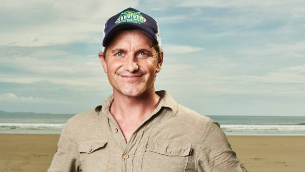 Survivor New Zealand host Matt Chisholm.