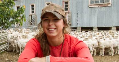 Louisa McClintock says the first her grandfather hears the news that she went on Survivor will be through reading the ...