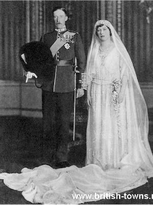 Princess Mary and Viscount Lascelles' wedding day.