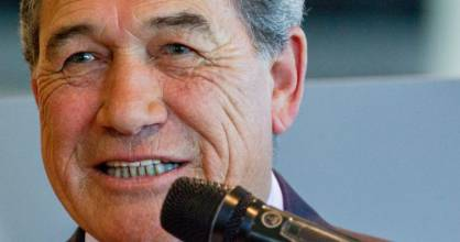 Winston Peters likes to describe immigrants an inundation instead of people.