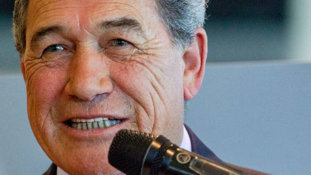 """We've got the best scenery anyway,"" NZ First leader Winston Peters says of Russell. ""Visiting international and ..."