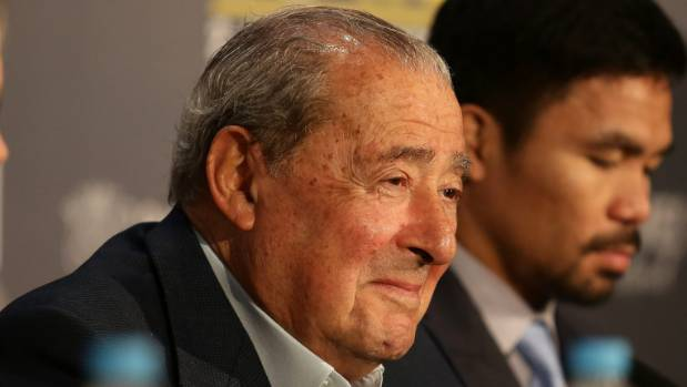 Bob Arum said Mc Cain would pay the promoter whatever the most expensive ticket cost