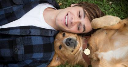 Self-confessed dog lover KJ Apa was gutted when his first international film, A Dog's Purpose, was attacked for abusing ...