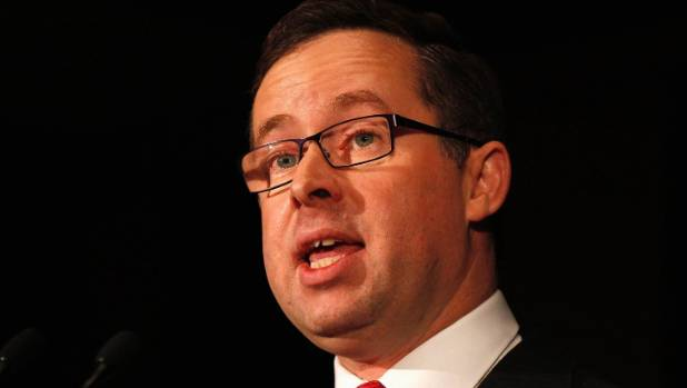 Alan Joyce cops pie in the face on stage